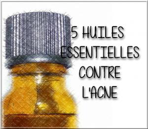 huiles essentielles acné