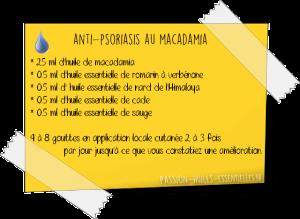formule aromathérapie psoriasis