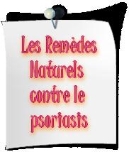 Les remèdes naturels contre le psoriasis