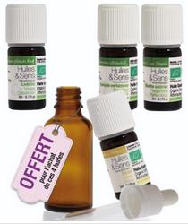 pack de 4 huiles essentielles detox