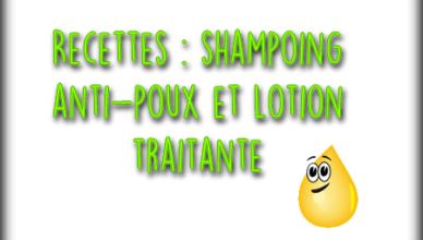 faire un shampoing antipoux