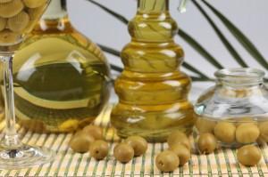 L'huile d'olive pour la peau