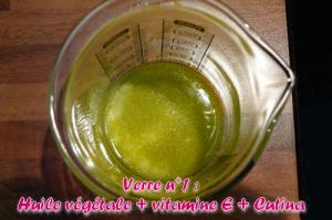 huiles végétales et cutina