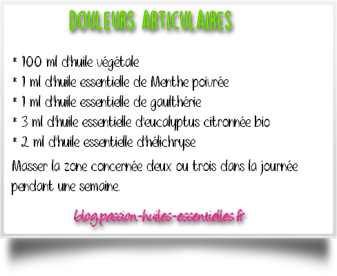 douleurs musculaires