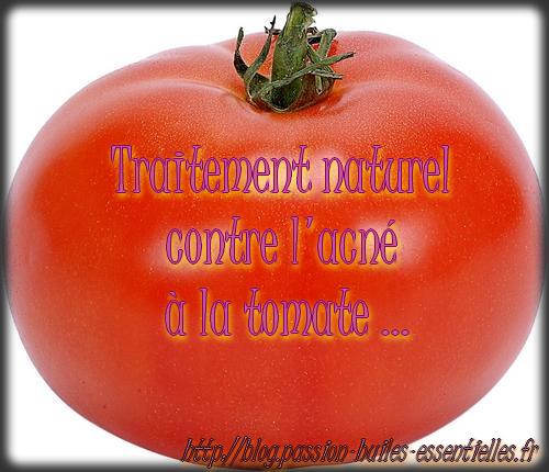 Recette à la tomate contre l'acné !