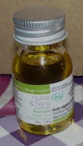 huile végétale de bourrache
