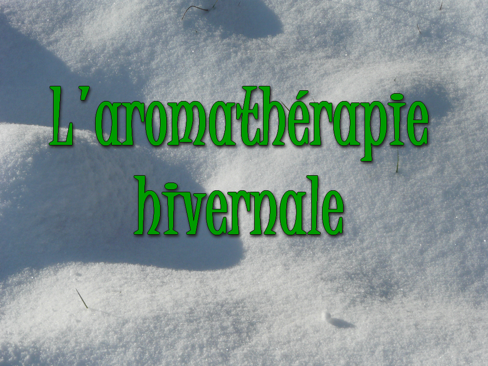 Hiver tranquille avec les huiles essentielles anti-infectieuses !