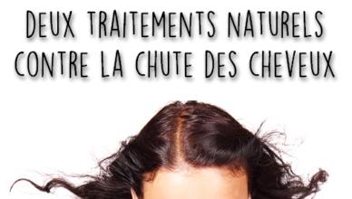 des solutions naturelles contre la chute de cheveux