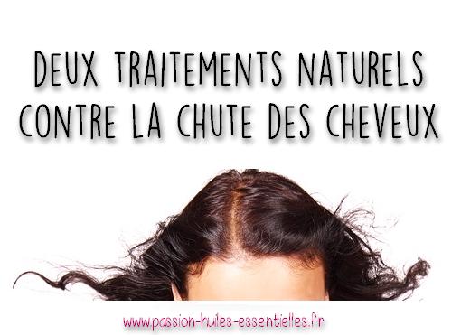 Traitement naturel pour chute de cheveux femme