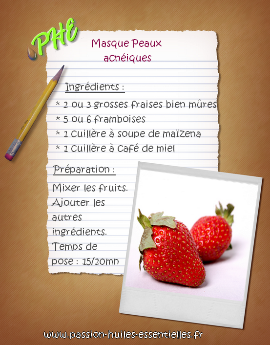 masque-fruits-rouges-acné