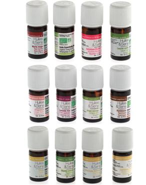 Pack huiles essentielles bio