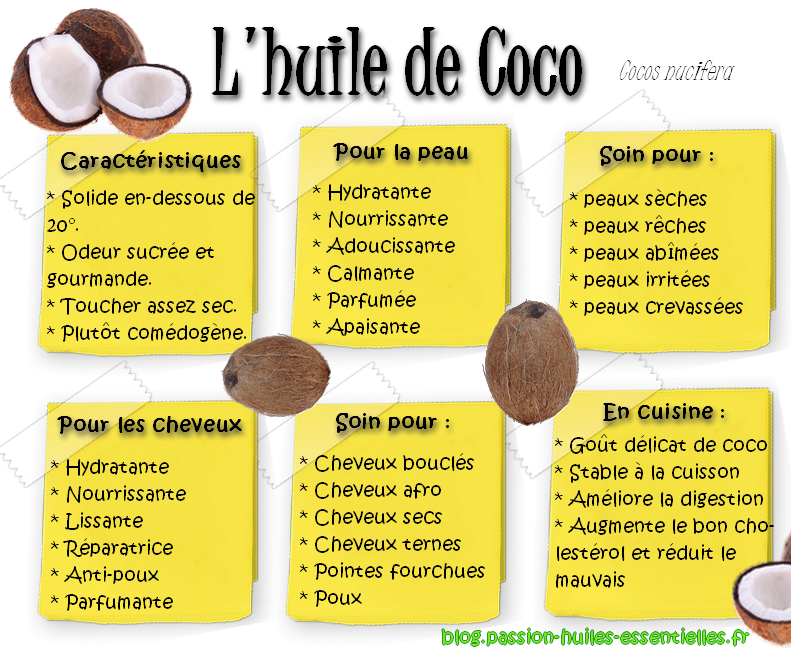 huile de coco bien fait