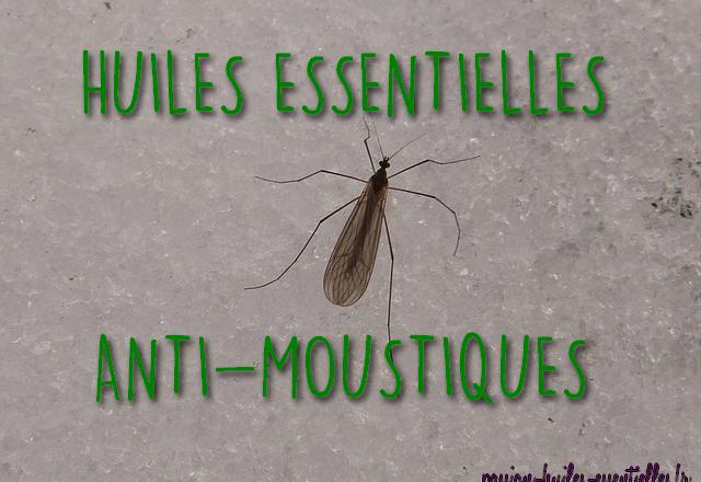 Huiles essentielles insectifuge