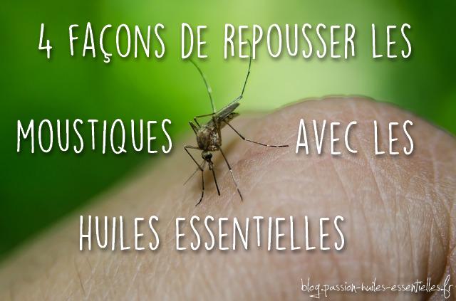 faire son répulsif moustiques naturel