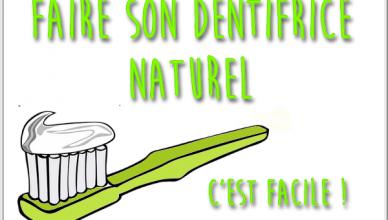 recette dentifrice naturel