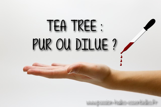 application cutanée tea tree