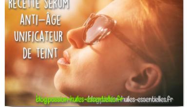 recette sérum unifiant et anti-âge