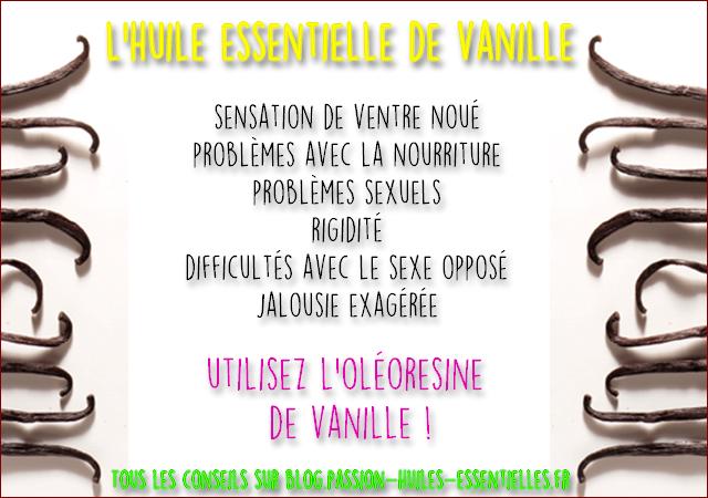 vertu de la vanille